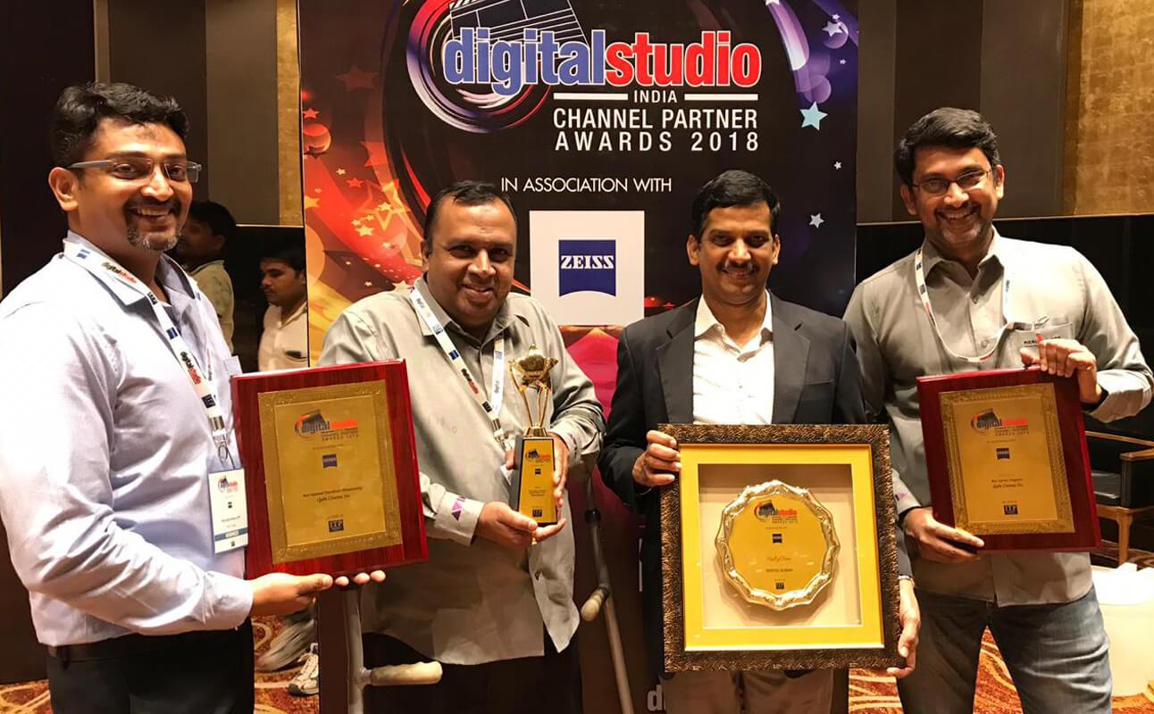 Digital Studio Channel Partner Awards 2018