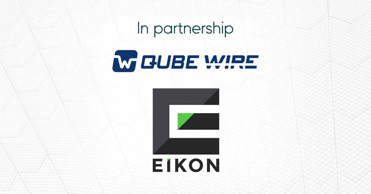 EIKON GROUP AND QUBE WIRE