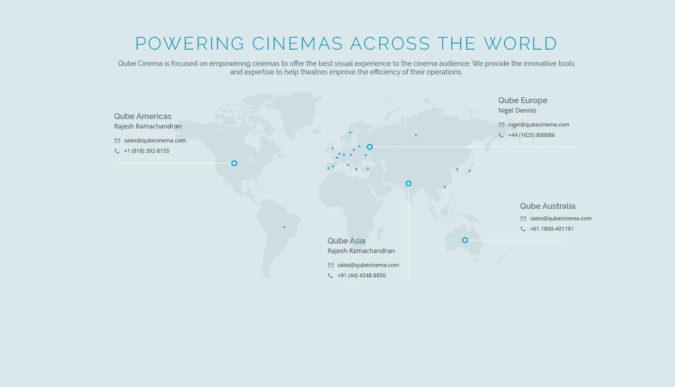 Qube powering cinema